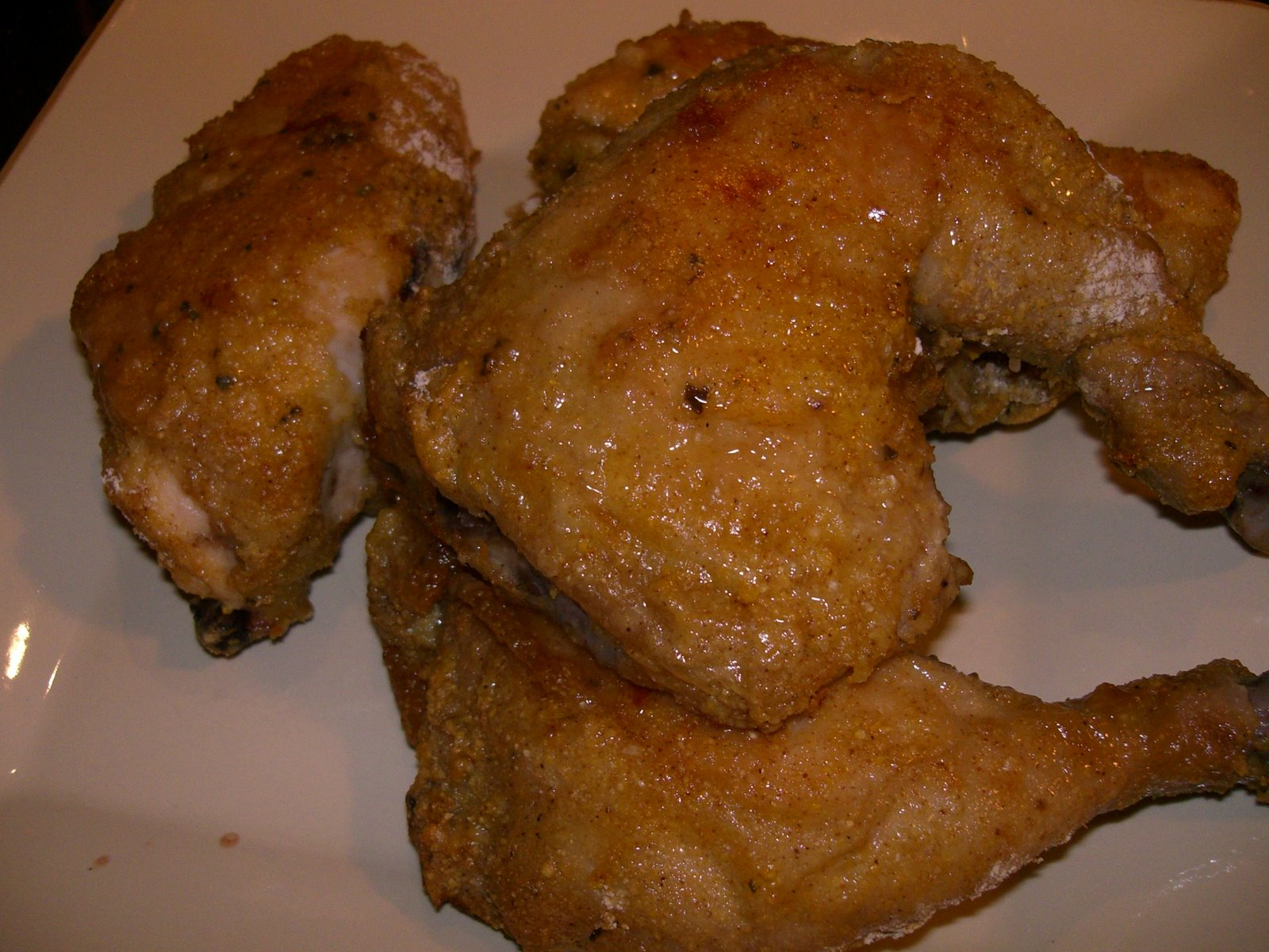 ... ate one of the best pieces of chicken of my life, if not the best