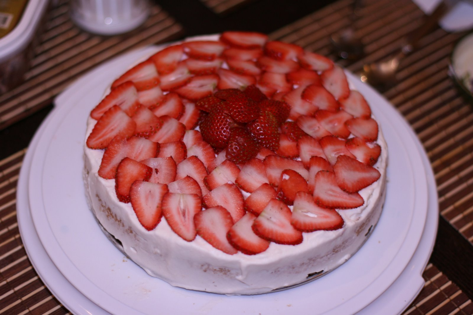 Strawberries And Whipped Cream | Pictures of Strawberry: Shortcake ...