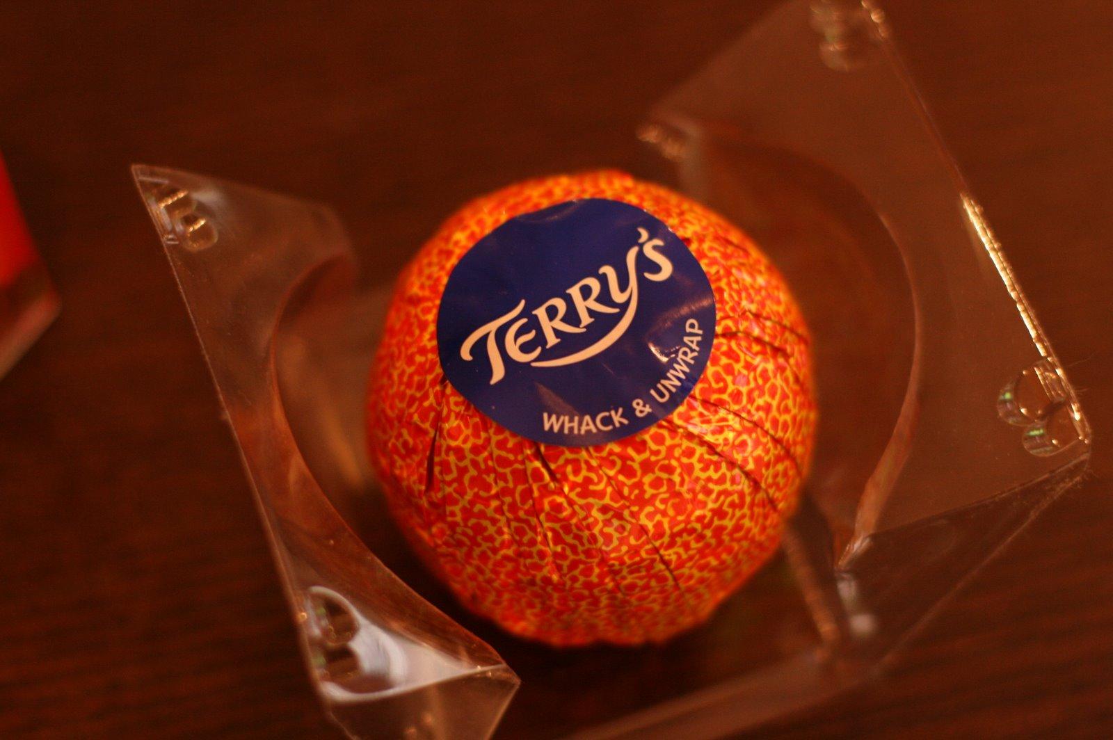 Orange Dark Chocolate Terry S